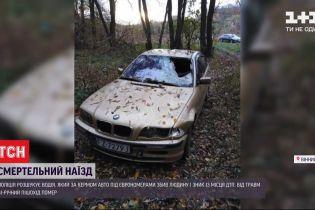 Завез авто в лес и скрылся: в Виннице разыскивают водителя, который насмерть сбил пешехода