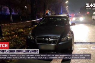 Столичный патрульный получил 3 огнестрельные ранения при задержании группы злоумышленников
