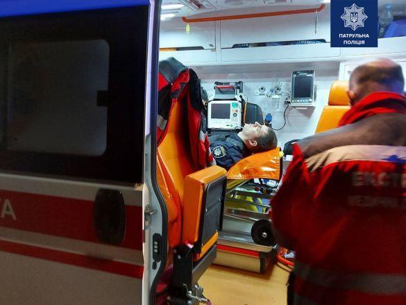 Патрульний поранений