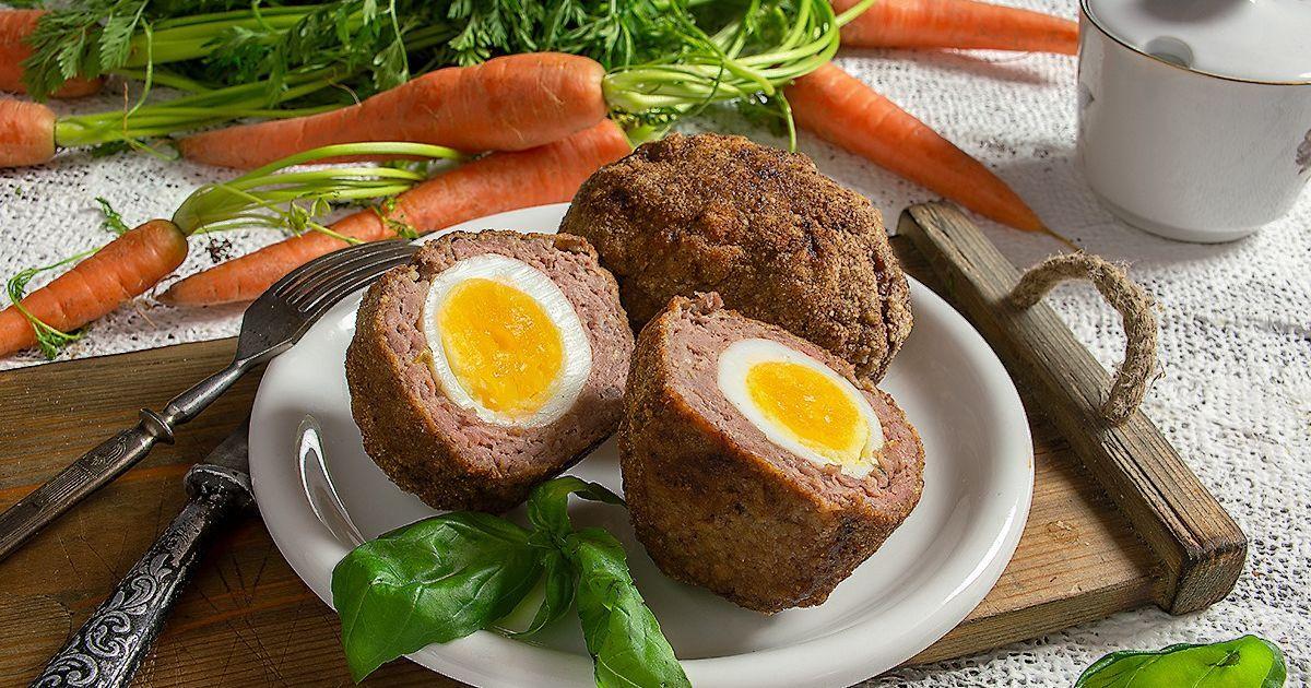 Аристократический субботний обед: яйца по-шотландски