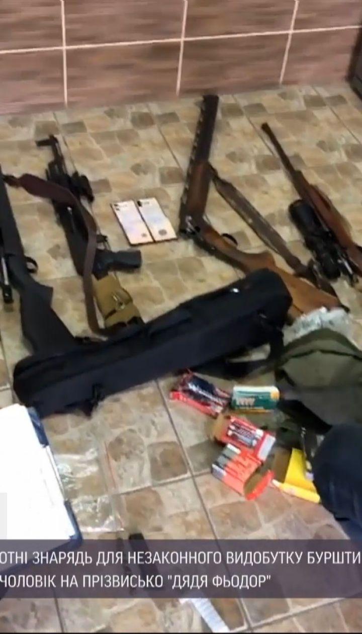 В Ровенской области полиция изъяла более 300 орудий для нелегальной добычи янтаря
