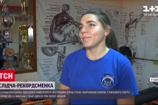 23-річна курсантка стала чемпіонкою Європи з гирьового спорту