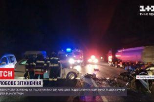 Во время столкновения легковушек вблизи Хмельницкого погибли двое мужчин