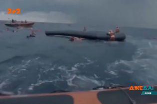 В международных водах Средиземного моря погибло 74 человека