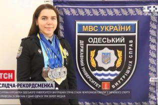 Майбутня слідча стала чемпіонкою Європи з гирьового спорту
