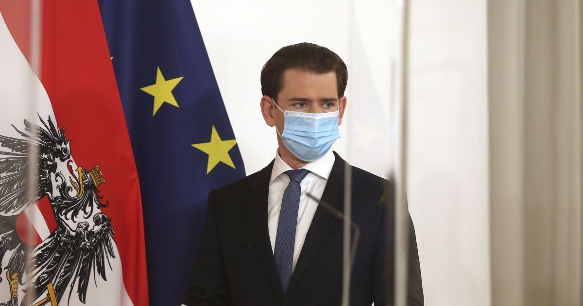 В Австрии вводят полный локдаун — канцлер Курц