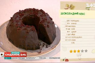 Шоколадний кекс – рецепт Валентини Хамайко