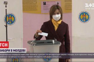 В Молдове президентом стала Майя Санду - кандидат получила 57% голосов избирателей