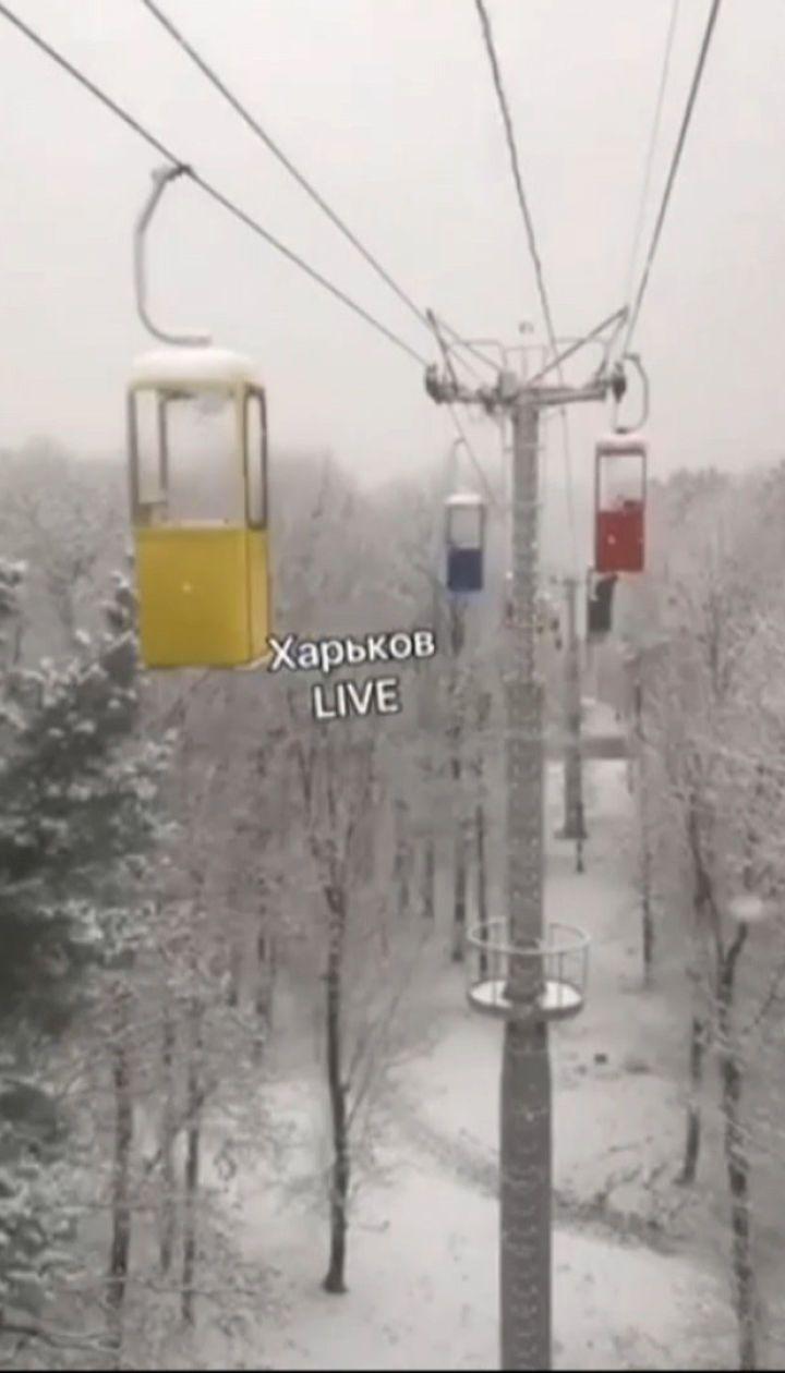 Зима в Україні: у кількох регіонах країни випав перший сніг