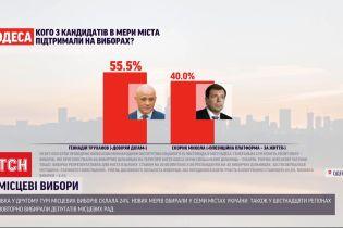 Результати другого туру виборів, що відбулися напередодні, вже відомі у кількох обласних центрах