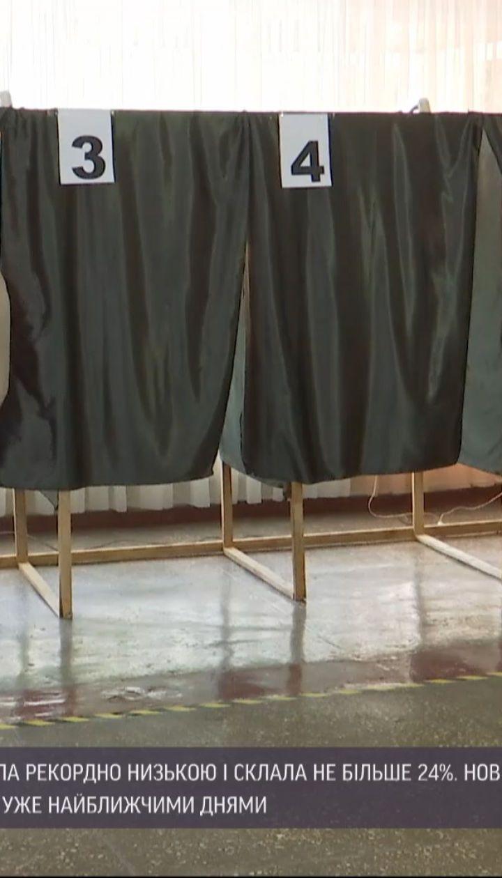 Коли українці дізнаються остаточні результати другого туру місцевих виборів