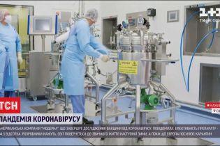 Американська компанія завершує випробування вакцини від коронавірусу