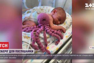 Львівські волонтери закликали майстринь вив'язати обереги для передчасно народжених дітей
