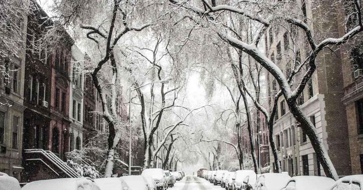 В Киеве ожидается мокрый снег, который будет идти до утра 18 ноября