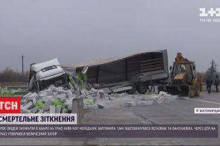 Смертельна аварія: у Житомирській області загинуло троє людей