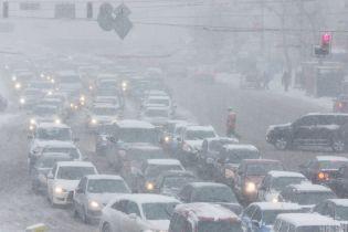 Киев в начале недели охватили существенные пробки: где труднее всего проехать