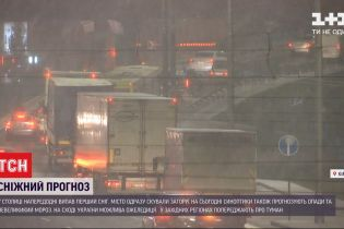 Перший сніг: яка ситуація на дорогах Києва зараз