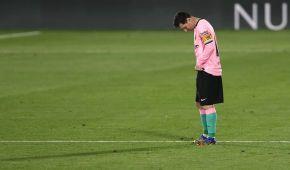 """Месси сыграл за """"Барселону"""" в футболке другого клуба: Лео посвятил гол Диего Марадоне"""