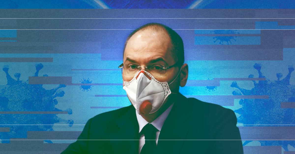 Степанов рассказал, когда коронавирус в Украине пойдет на спад