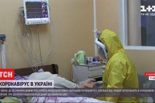 У Києві зафіксовано найбільше нових випадків COVID-19 – близько 30 людей підключені до апаратів ШВЛ