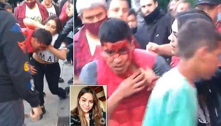 Бійчиня ММА жорстко відлупцювала крадія, який намагався пограбувати її на вулиці (відео)