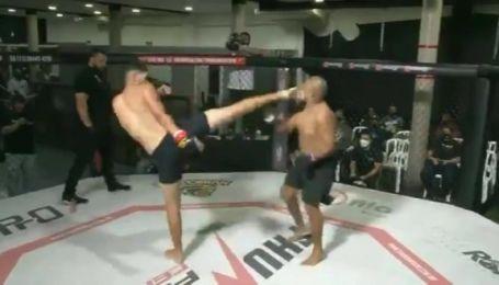Из-за оплошности судьи: боец MMA трижды за поединок побывал в нокауте (видео)