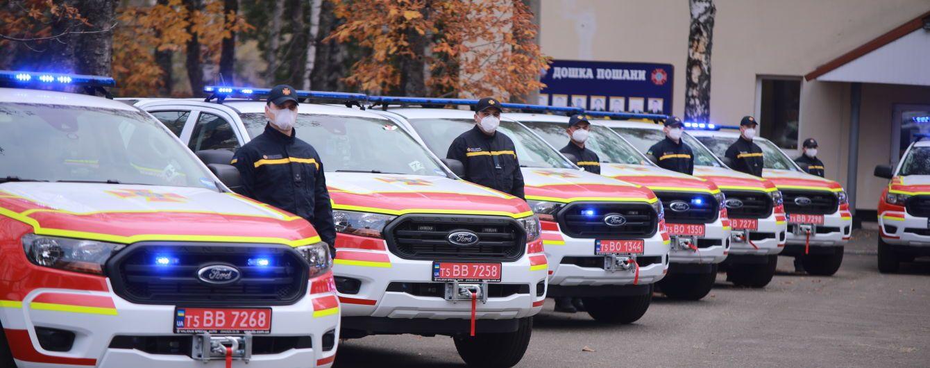 ГСЧС получила 23 специальных аварийно-спасательных машины