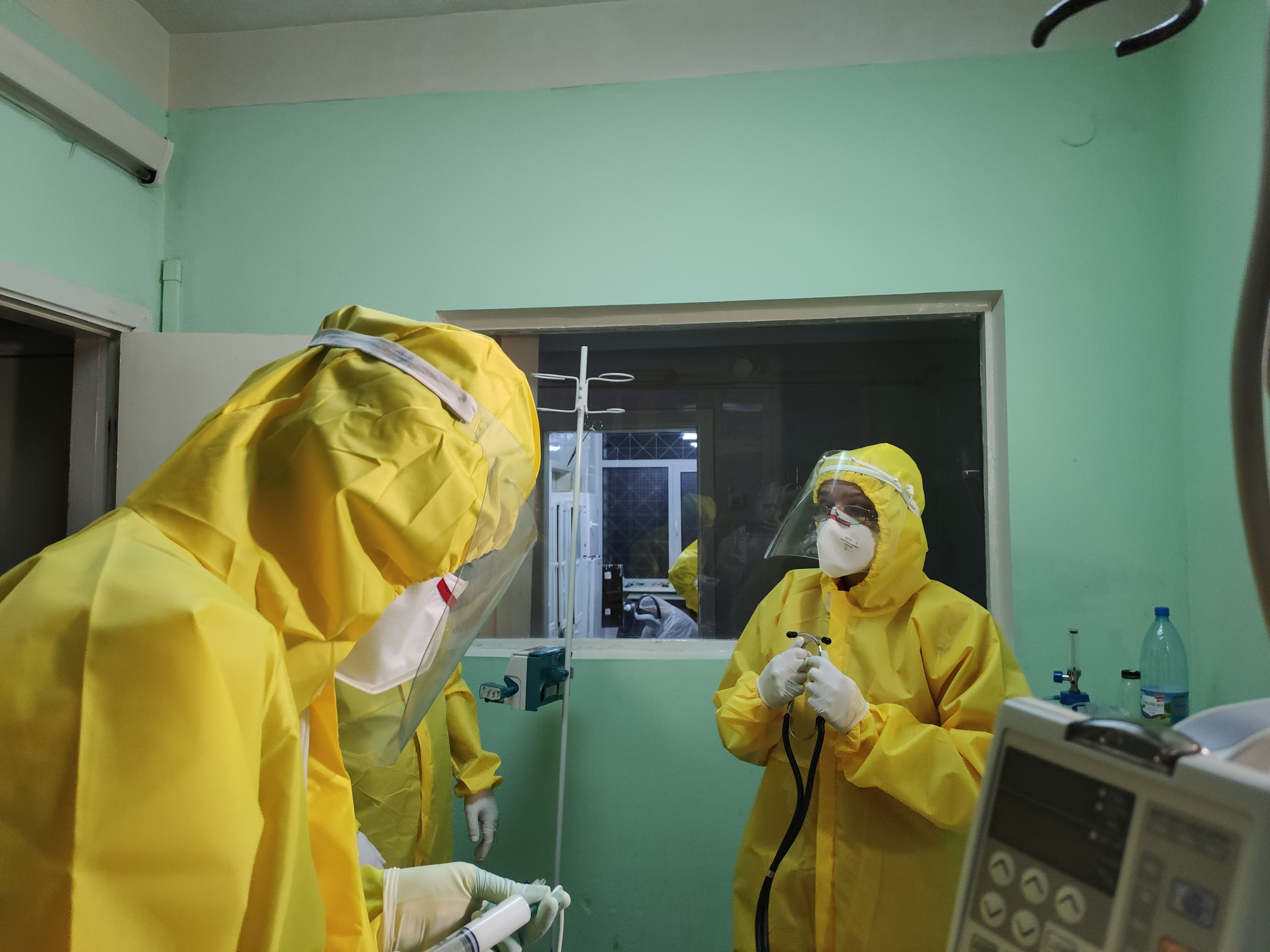 Коронавірус Київ лікарня 9 репортаж