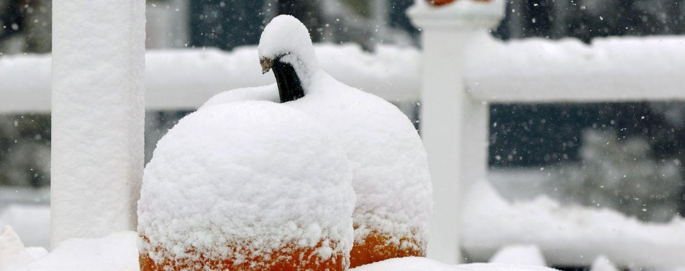 Припорошило: які області України уже накрило снігом і де його найбільше