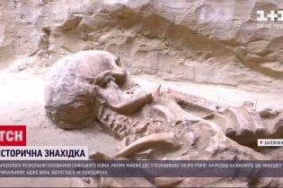 У Запоріжжі археологи віднайшли унікальну могилу скіфа-велетня