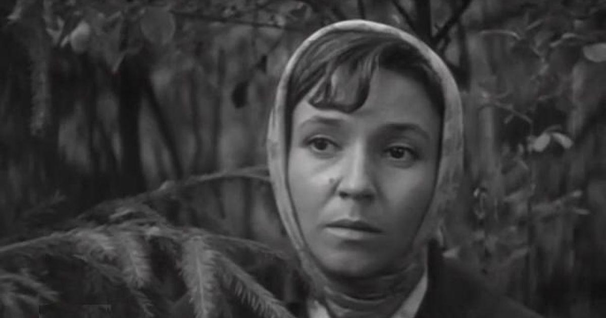 Умерла звезда советского кино Любовь Румянцева