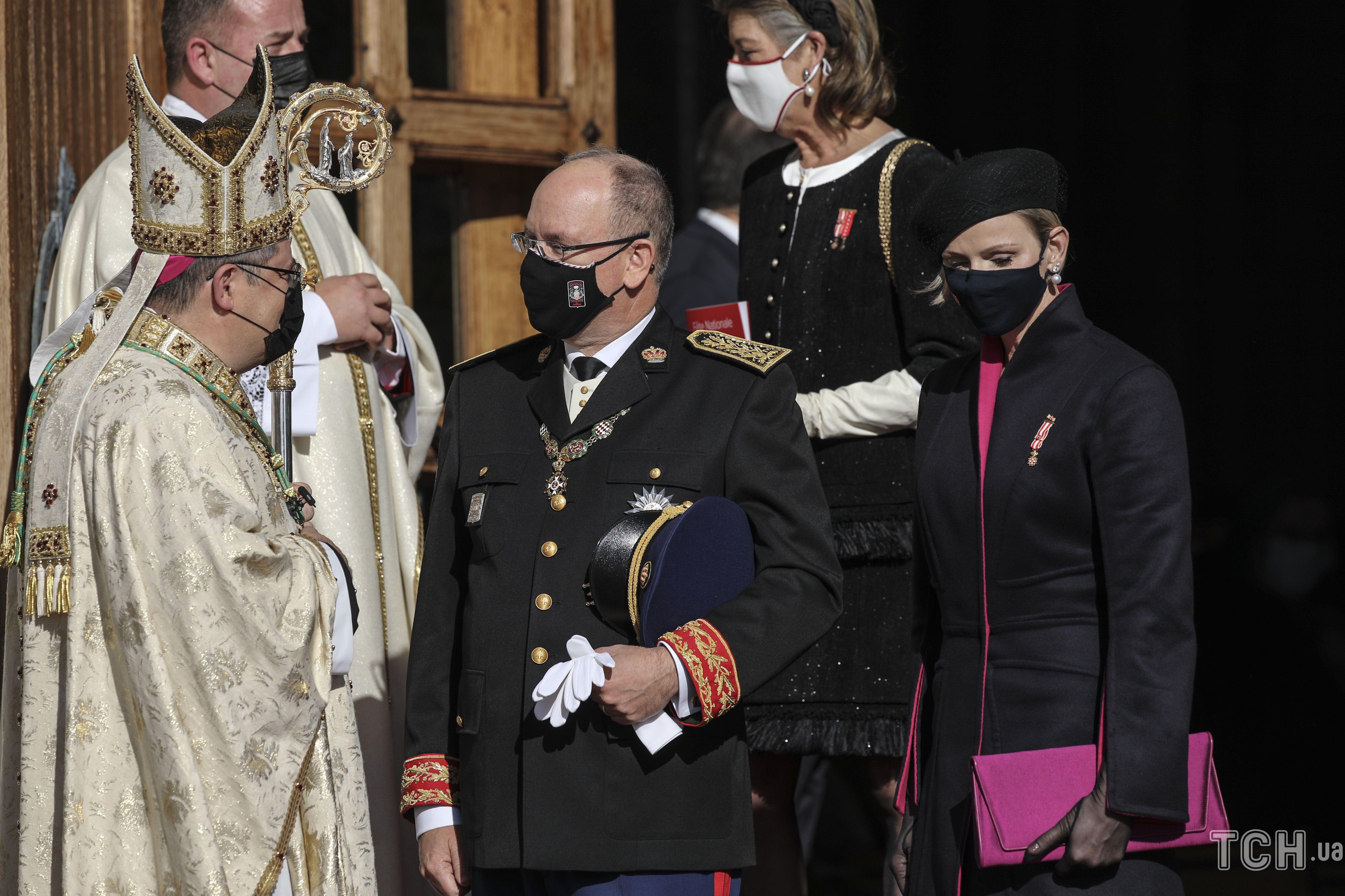 Княгиня Шарлин и князь Альбер II_3