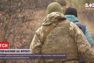 На фронті один військовий отримав вогнепальне осколкове поранення