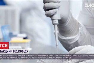 Зареєструвати перші вакцини від коронавірусу в ЄС розраховують вже до кінця грудня