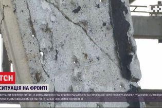 Внаслідок ворожого обстрілу один український військовий отримав осколкове поранення
