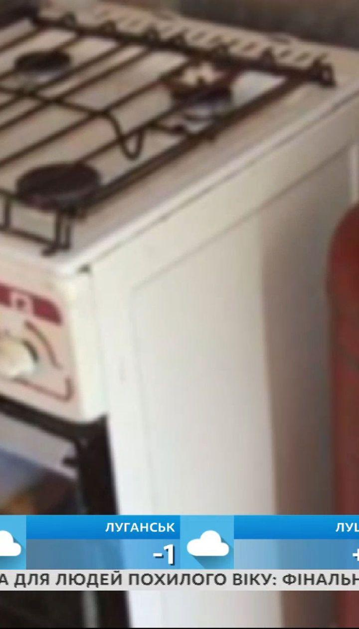 """""""Сніданок"""" проверил киевлянку, которая, по словам соседей, держала газовый баллон в квартире"""