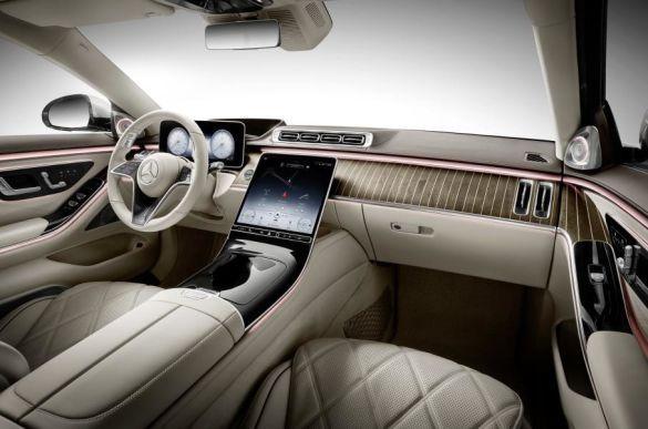 Mercedes-Maybach S-Class, салон