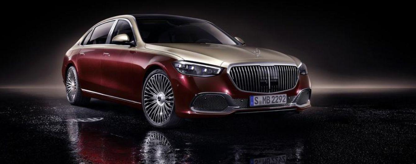 Mercedes официально презентовал Maybach S-Class нового поколения