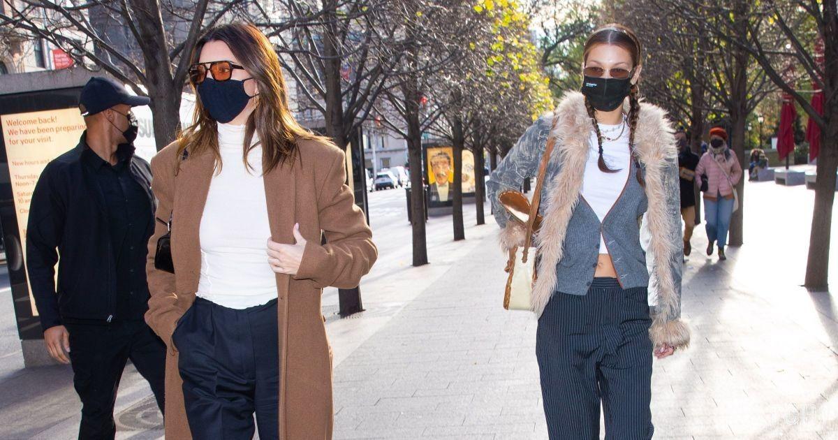 Змінили два образи: Кендалл Дженнер провела день із Белою Хадід