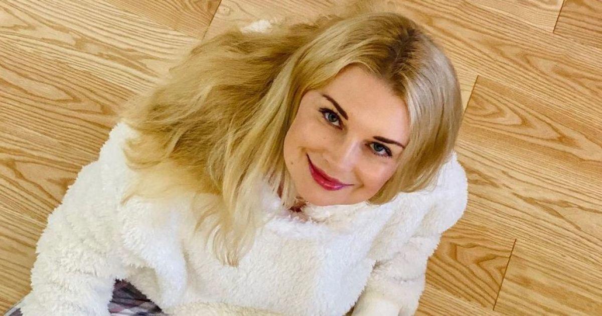 У пухнастому светрі і картатих штанях: Лідія Таран продемонструвала домашній лук