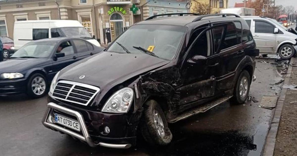 На Прикарпатье новоизбранный мэр попал в аварию: фото