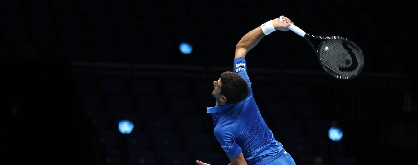 Визначилися півфіналісти Підсумкового турніру ATP: хто зіграє у плейоф в Лондоні