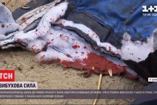 В Харькове мужчина попал в больницу из-за взрыва гранаты