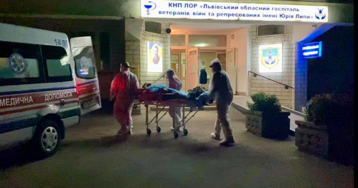 У Львівській області стався вибух у військовому госпіталі: десятки пацієнтів евакуюють