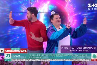 Alyona Alyona и Александр Попов приняли участие в танцевальном челендже