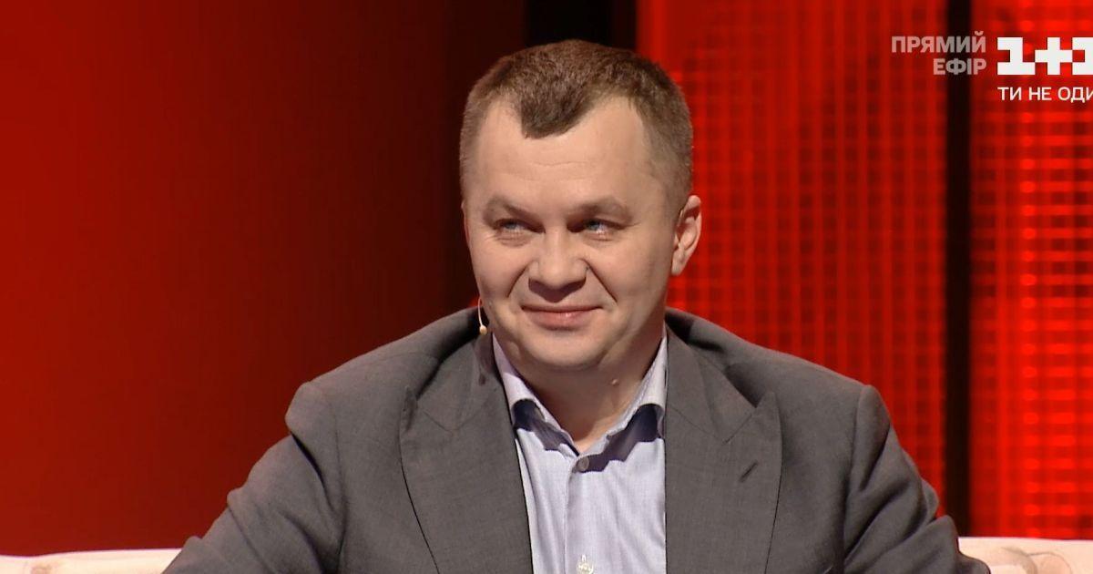Экс-министр экономики Милованов заявил, что уже является советником Ермака