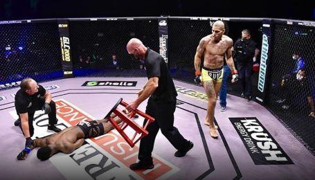 """Бразильський кікбоксер перейшов до MMA і """"загасив"""" суперника одним ударом (відео)"""