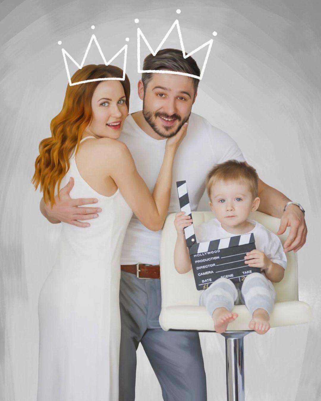Наталка Денисенко з чоловіком