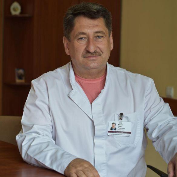 Головний лікар міської лікарні ІФ Тарас Масляк
