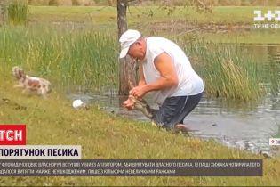 У Флориді чоловік визволив свого песика з пащі крокодила